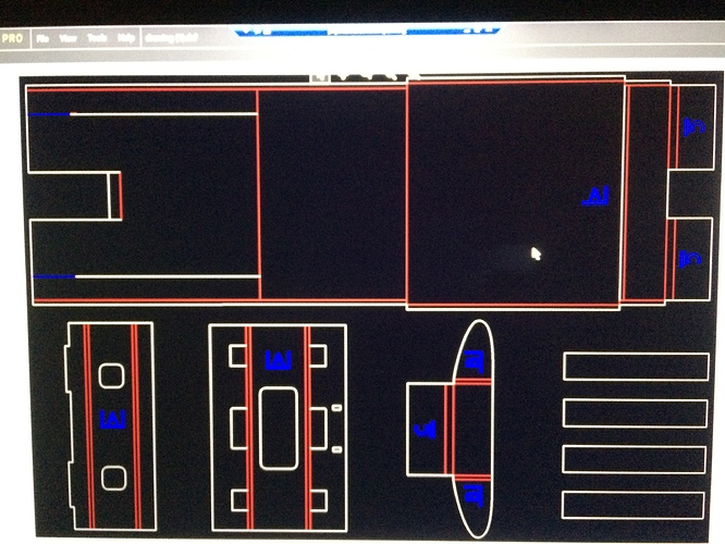 RD works not showing dxf files correctly - Laser - Dallas
