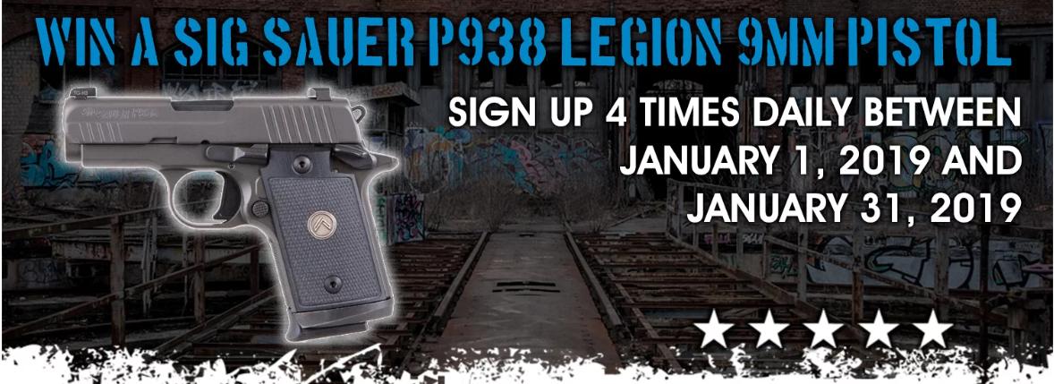 Grab a Gun P938 Giveaway - Hatcher's Armory - Dallas