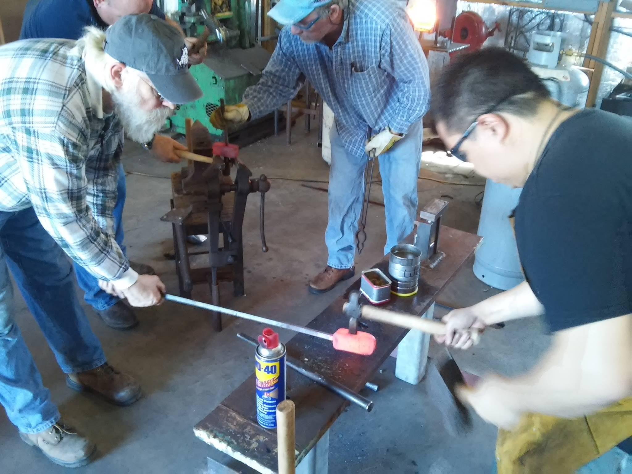 North Texas Blacksmith Association Meeting